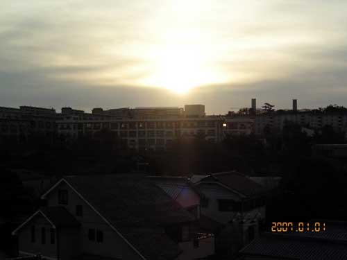 2007年初日の出